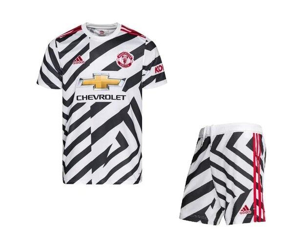 Манчестер Юнайтед резервная детская форма 2020-2021