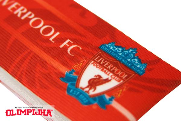 Капитанская повязка с эмблемой Ливерпуль
